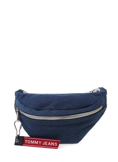Tommy Hilfiger Messenger / Askılı Çanta Mavi